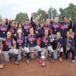 Sparks Haarlem Softbal Dames 1 kampioen