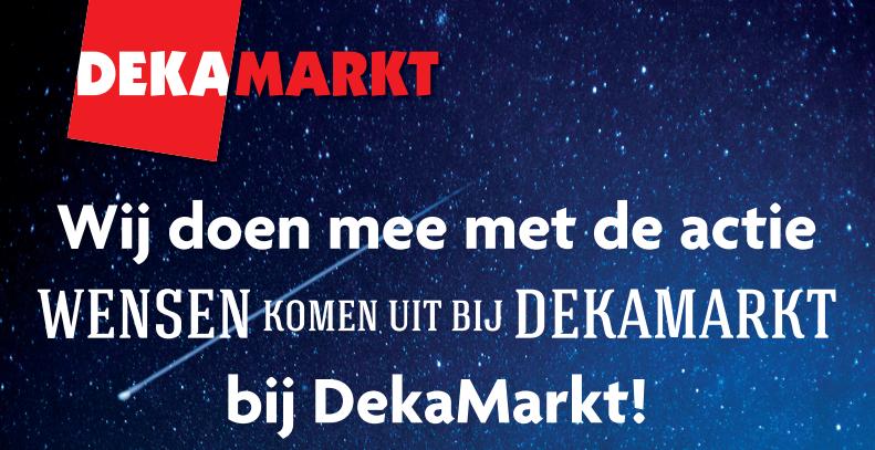 Spaar mee voor Sparks Haarlem bij Dekamarkt in Schalkwijk